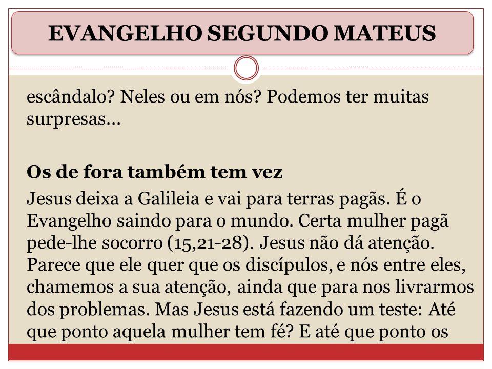 EVANGELHO SEGUNDO MATEUS