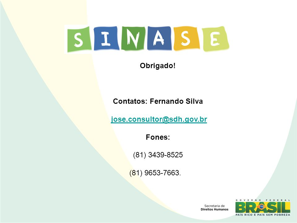 Contatos: Fernando Silva