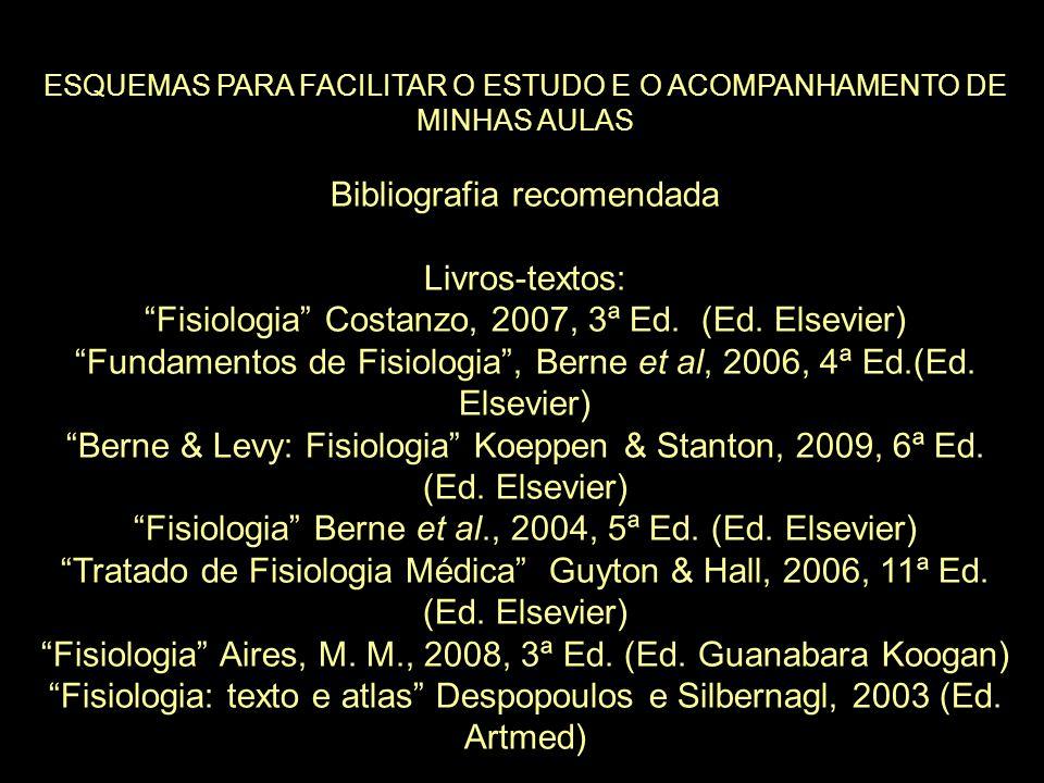 Bibliografia recomendada Livros-textos:
