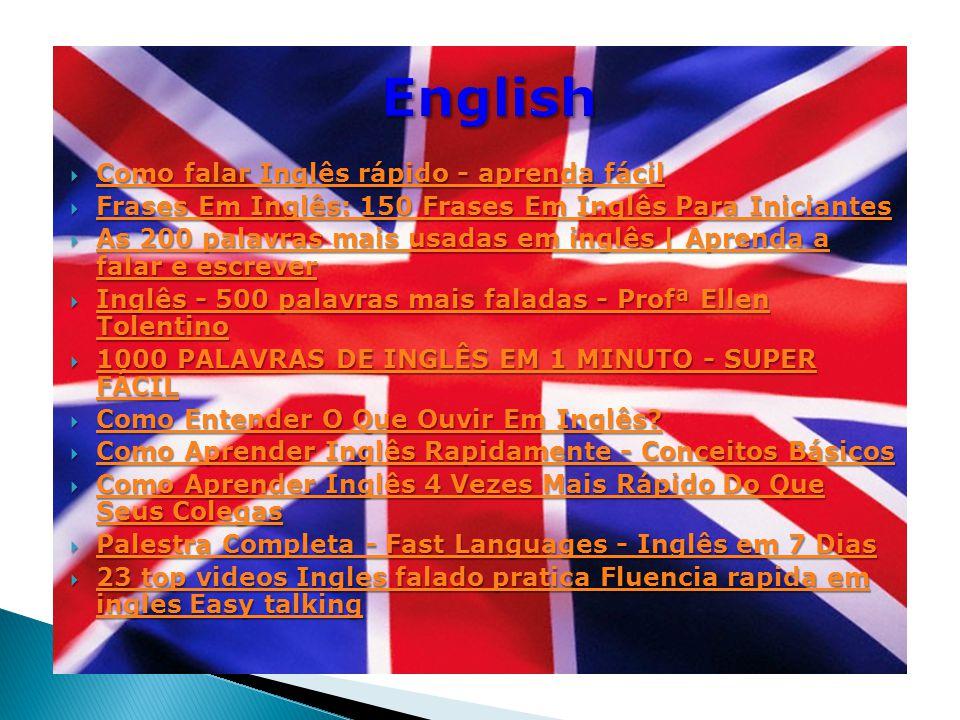 English Como falar Inglês rápido - aprenda fácil