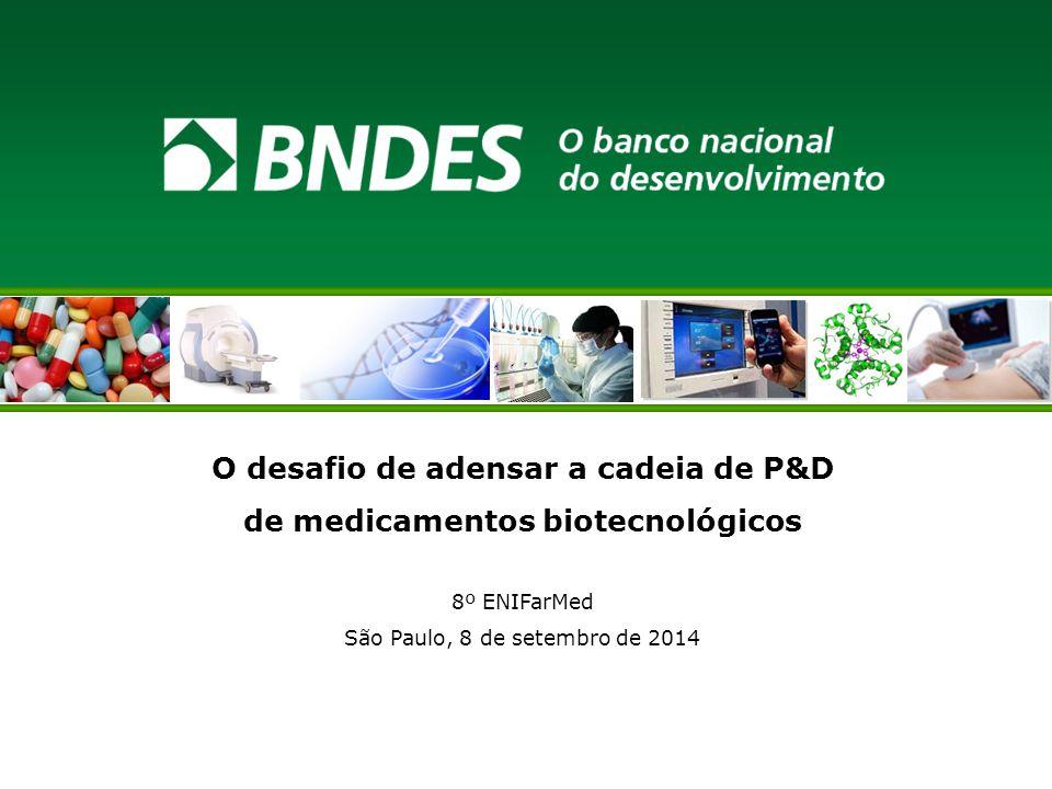 O desafio de adensar a cadeia de P&D de medicamentos biotecnológicos