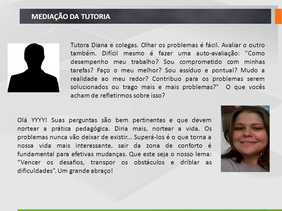 MEDIAÇÃO DA TUTORIA