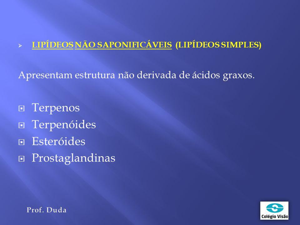Terpenos Terpenóides Esteróides Prostaglandinas