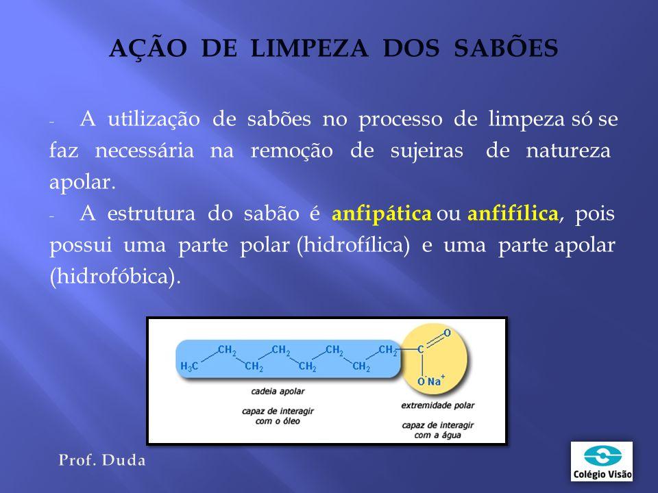 AÇÃO DE LIMPEZA DOS SABÕES