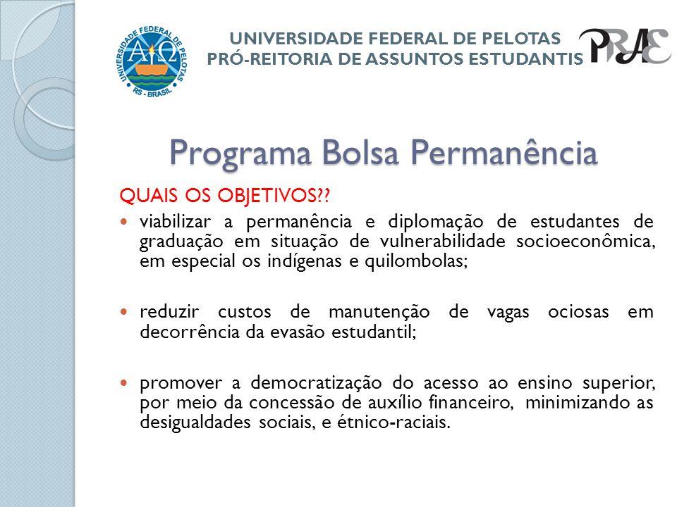 Programa Bolsa Permanência