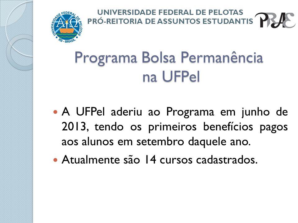 Programa Bolsa Permanência na UFPel