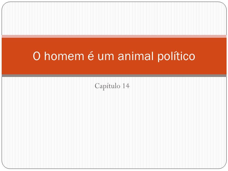 O homem é um animal político
