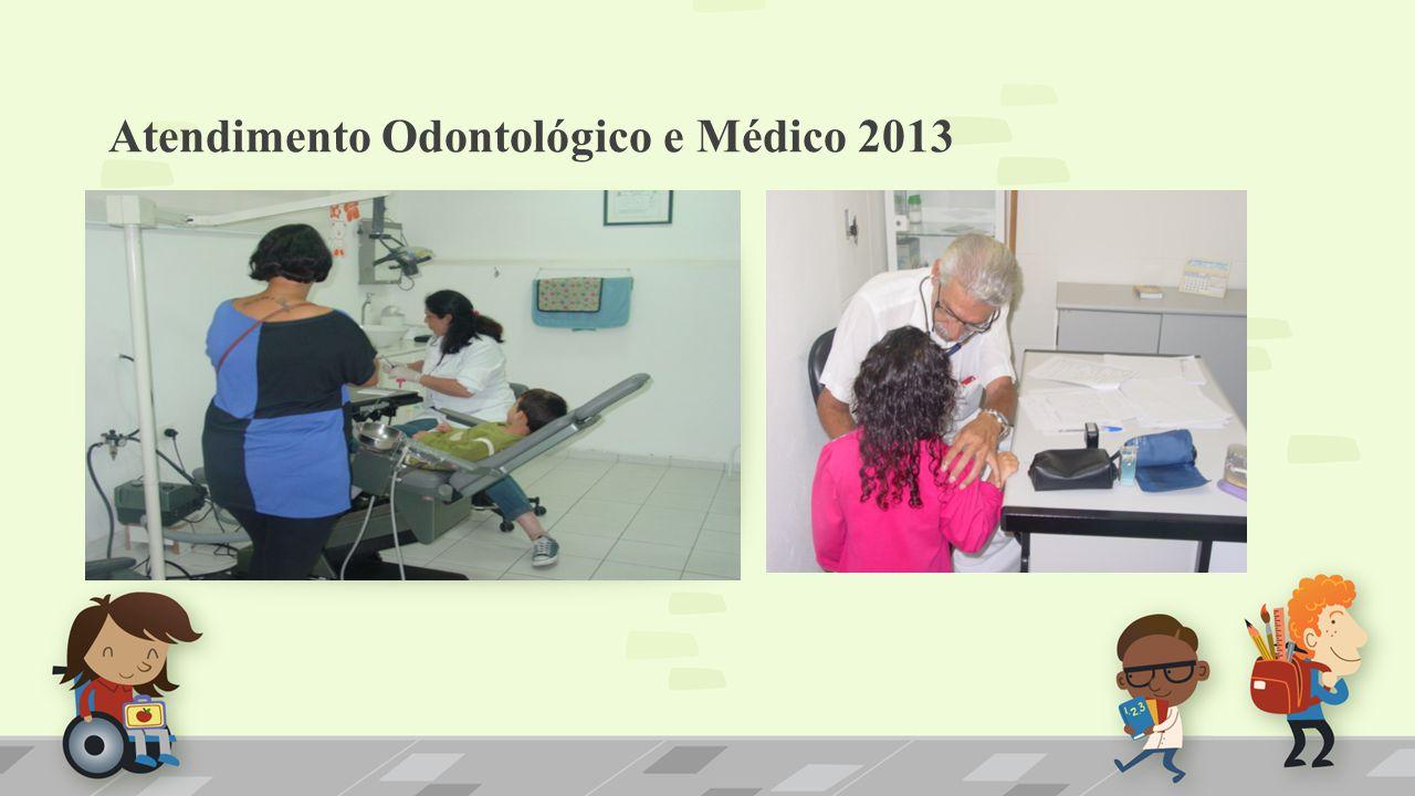 Atendimento Odontológico e Médico 2013