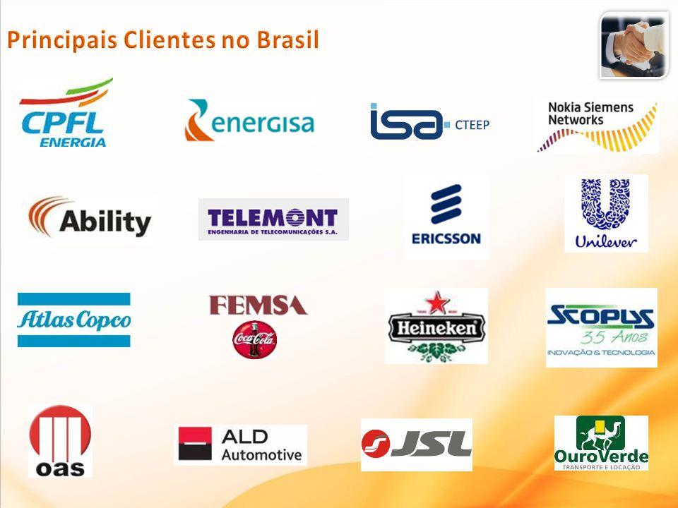 Principais Clientes no Brasil