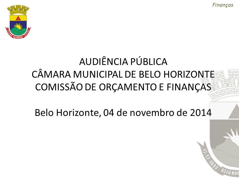 CÂMARA MUNICIPAL DE BELO HORIZONTE COMISSÃO DE ORÇAMENTO E FINANÇAS