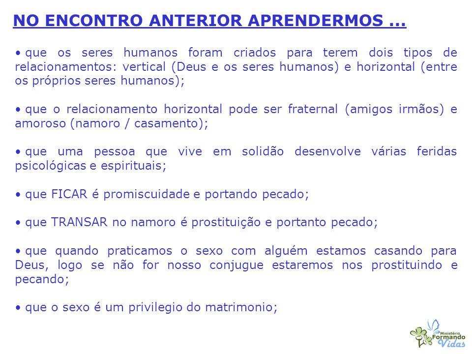 NO ENCONTRO ANTERIOR APRENDERMOS ...