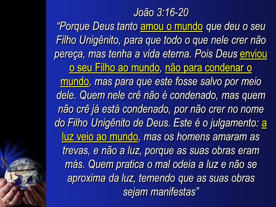 João 3:16-20