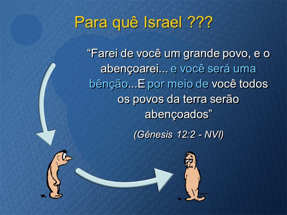 Para quê Israel
