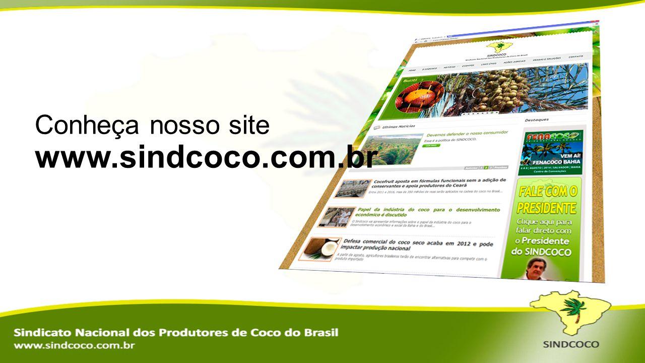 Conheça nosso site www.sindcoco.com.br