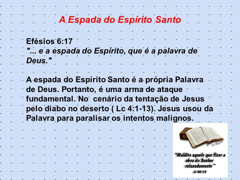 A Espada do Espírito Santo