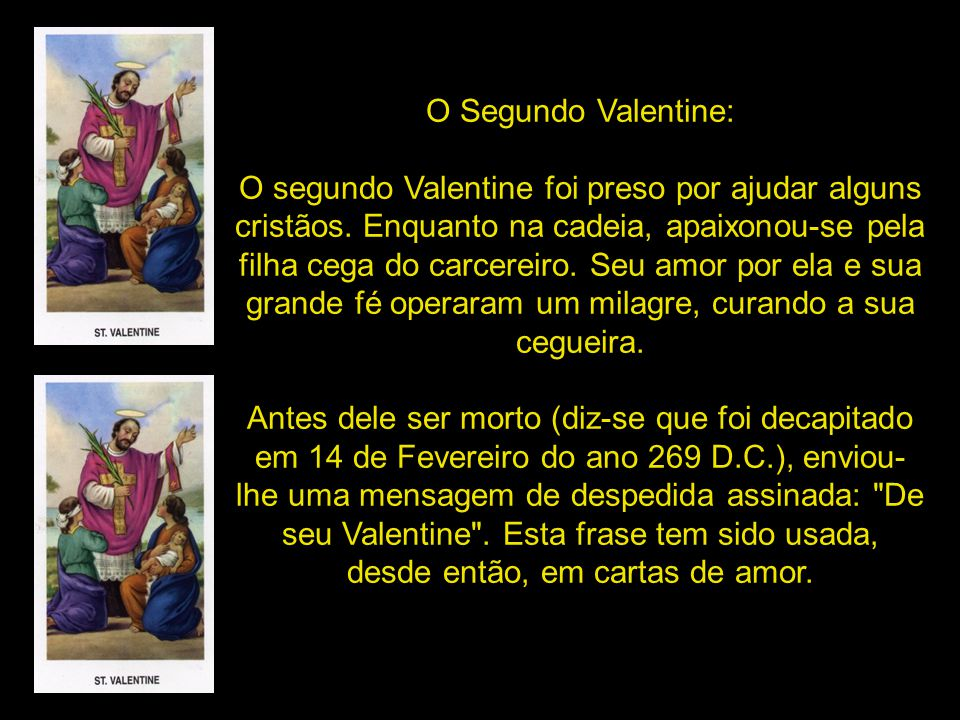 O Segundo Valentine: