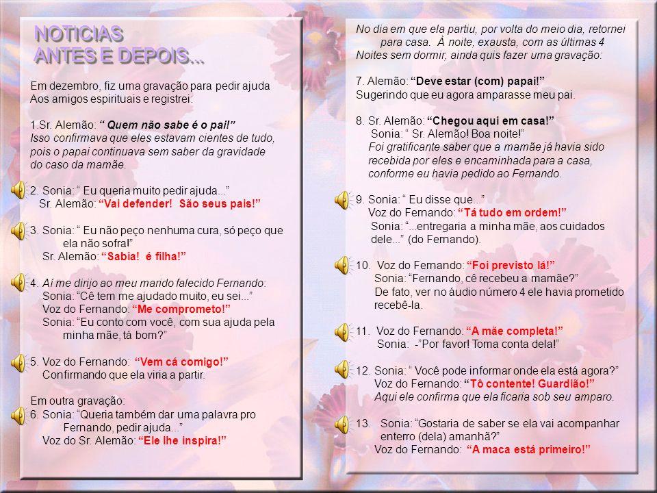 NOTICIAS ANTES E DEPOIS...