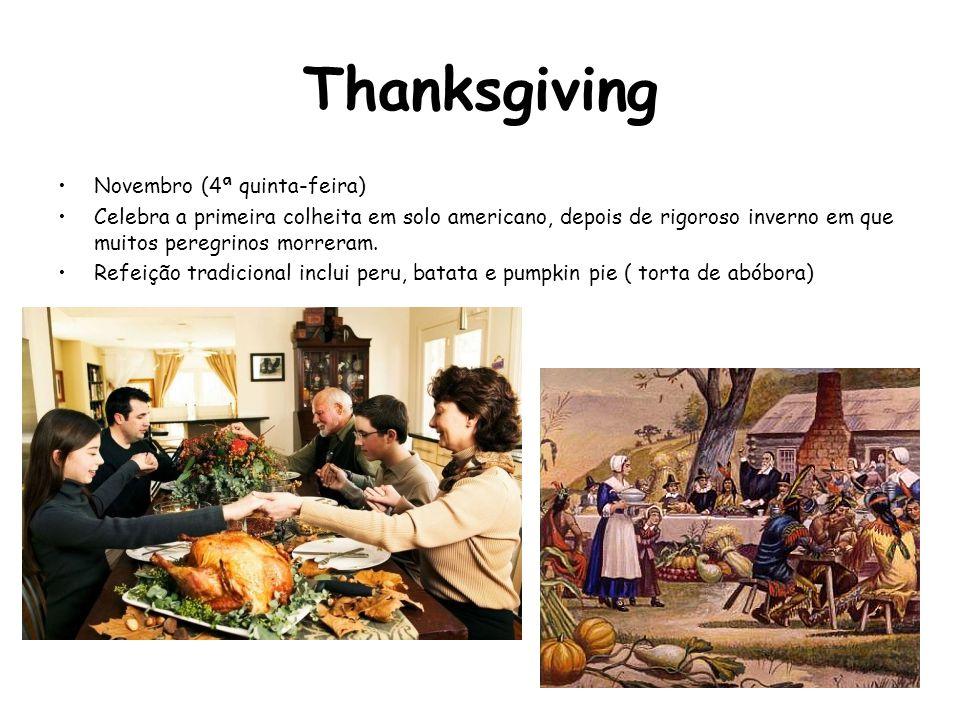 Thanksgiving Novembro (4ª quinta-feira)