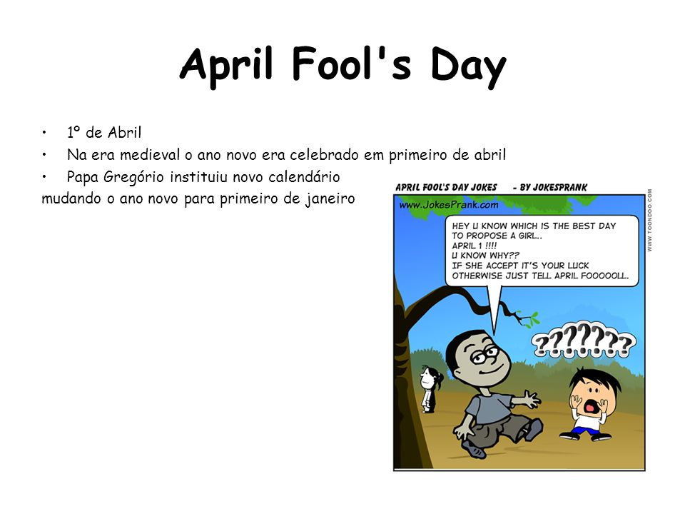 April Fool s Day 1º de Abril