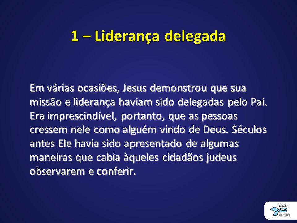1 – Liderança delegada