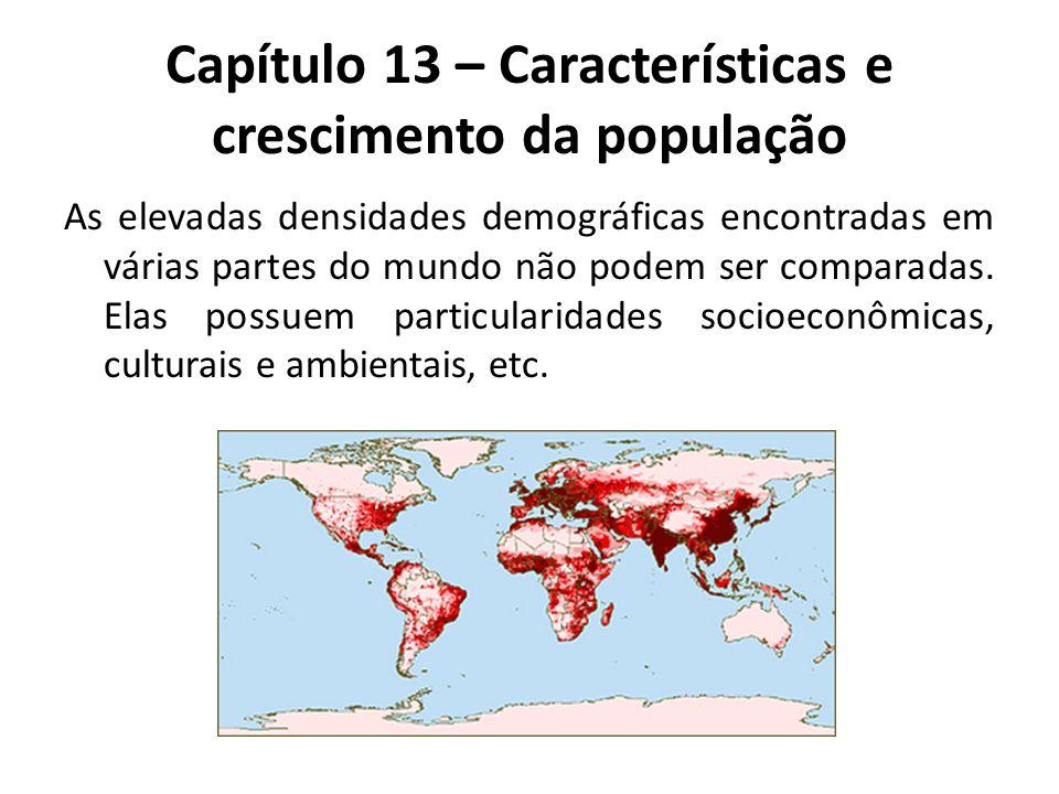 Capítulo 13 – Características e crescimento da população