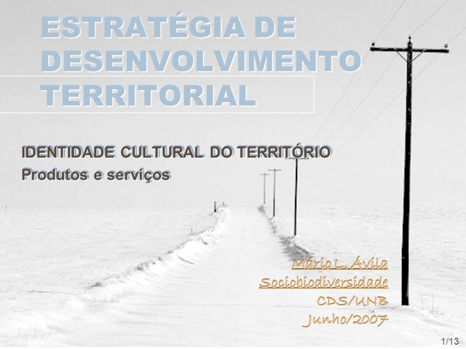 ESTRATÉGIA DE DESENVOLVIMENTO TERRITORIAL
