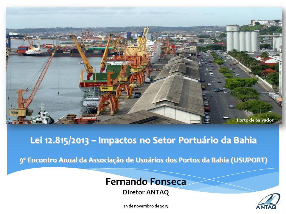 Fernando Fonseca Diretor ANTAQ 29 de novembro de 2013