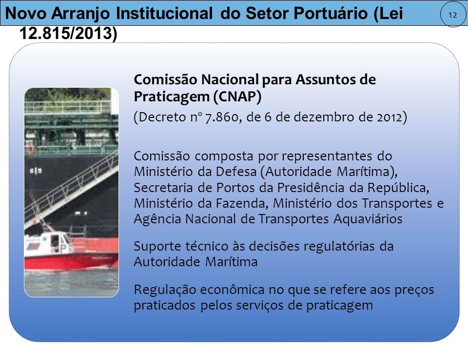 Novo Arranjo Institucional do Setor Portuário (Lei 12.815/2013)