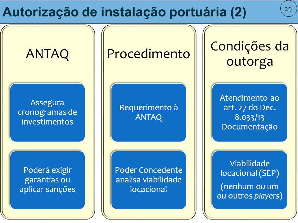 Autorização de instalação portuária (2)