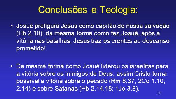 Conclusões e Teologia: