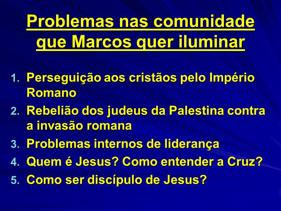 Problemas nas comunidade que Marcos quer iluminar