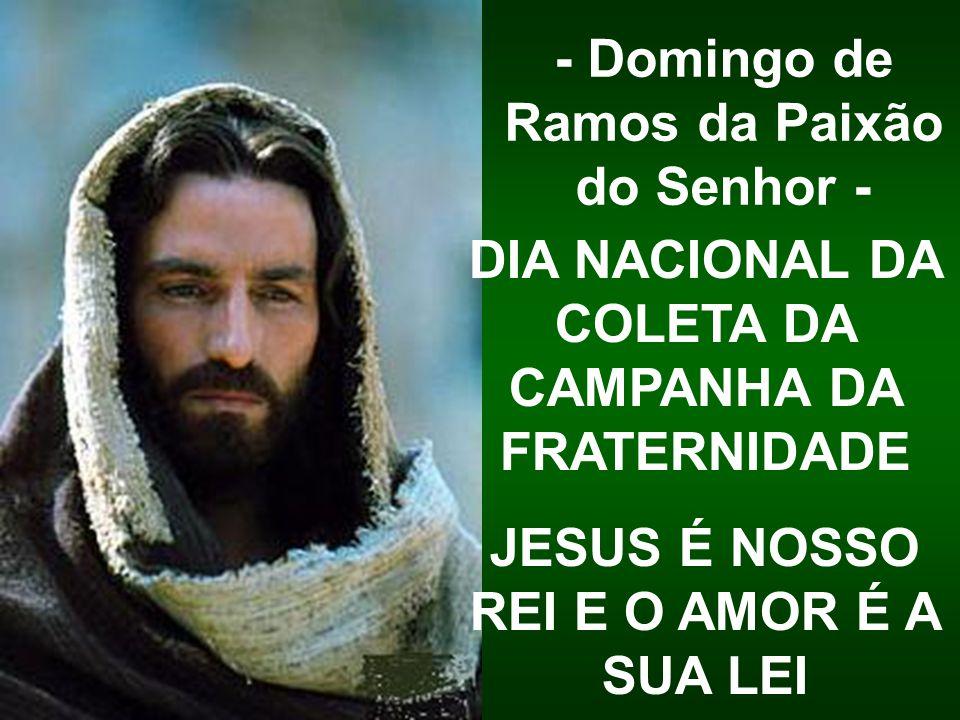 - Domingo de Ramos da Paixão do Senhor -