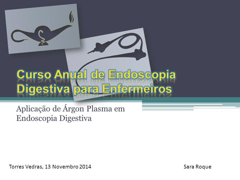 Aplicação de Árgon Plasma em Endoscopia Digestiva