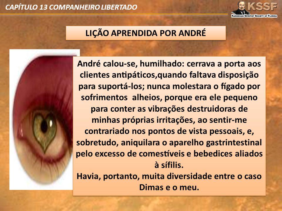 CAPÍTULO 13 COMPANHEIRO LIBERTADO