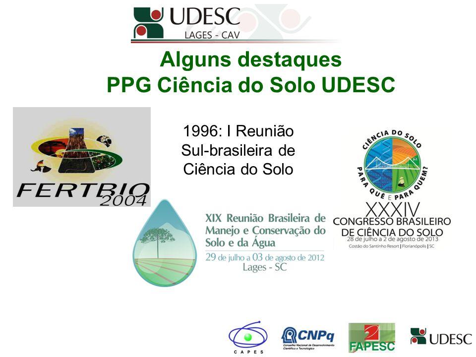 PPG Ciência do Solo UDESC