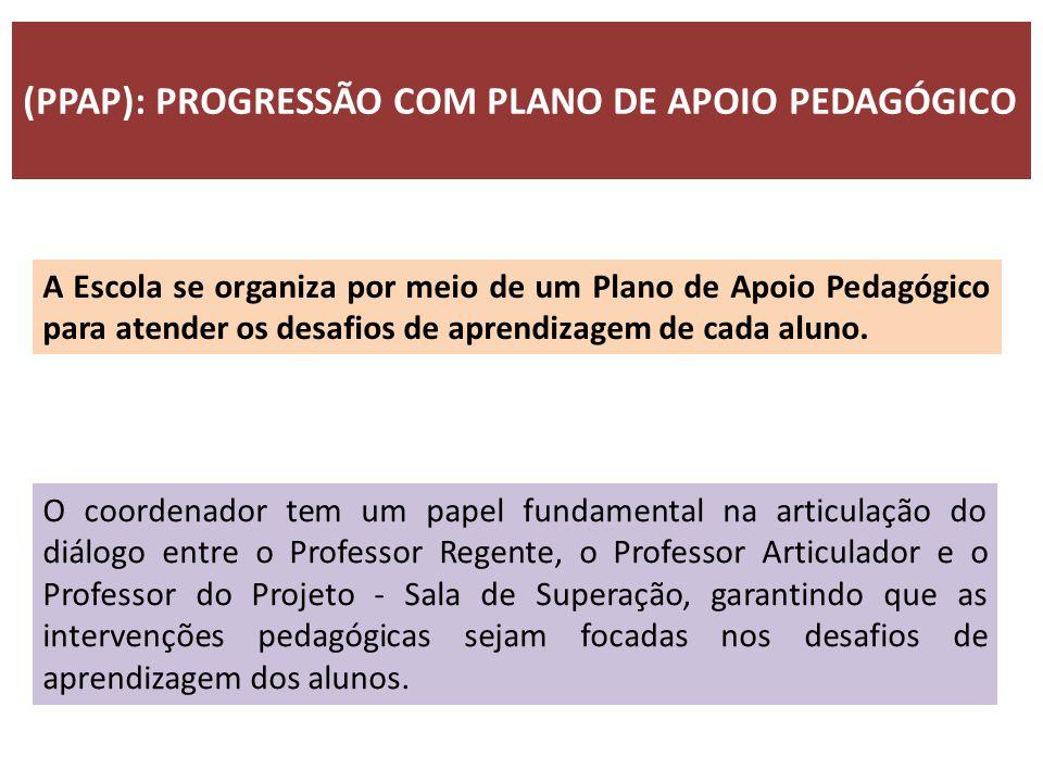 (PPAP): PROGRESSÃO COM PLANO DE APOIO PEDAGÓGICO