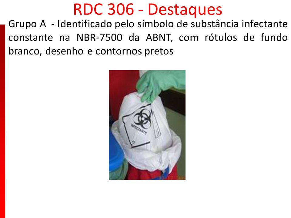 RDC 306 - Destaques