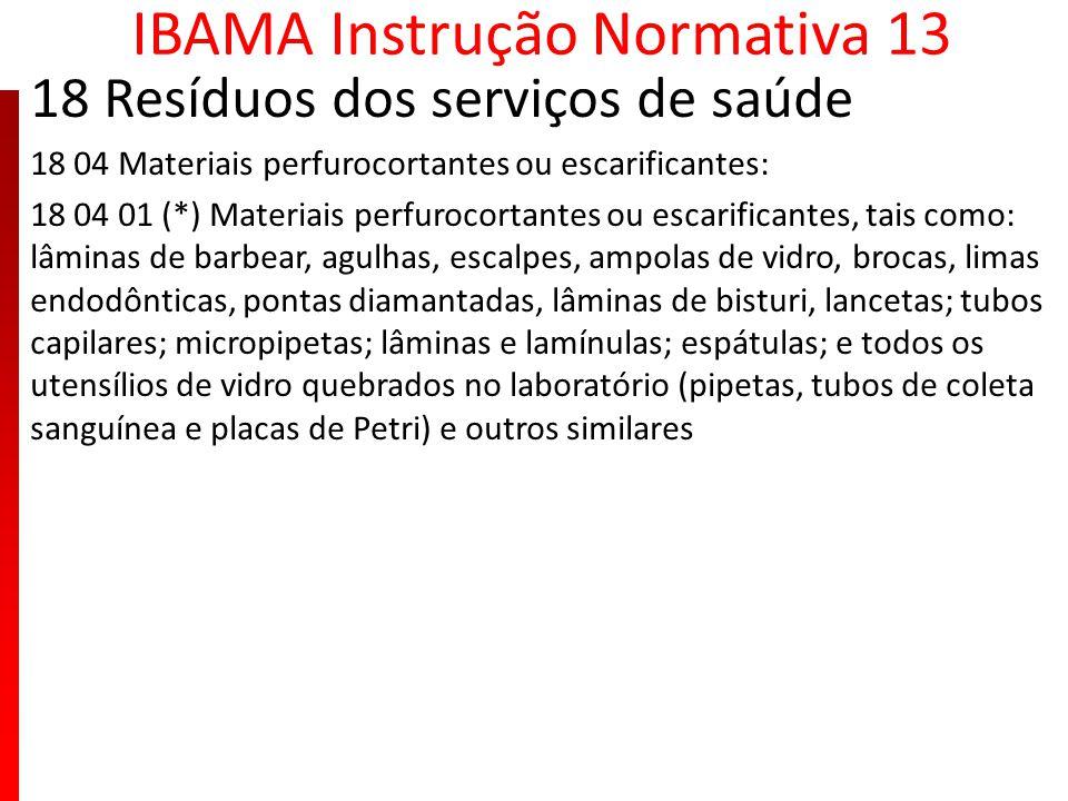 IBAMA Instrução Normativa 13