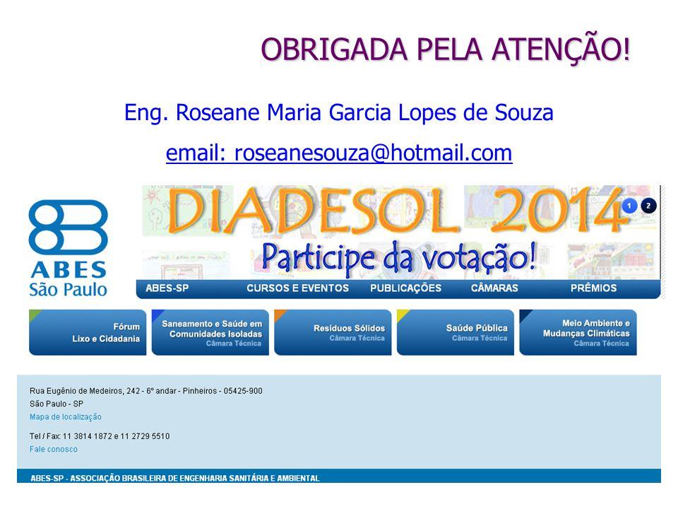 Eng. Roseane Maria Garcia Lopes de Souza