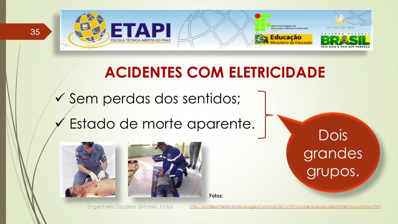 ACIDENTES COM ELETRICIDADE