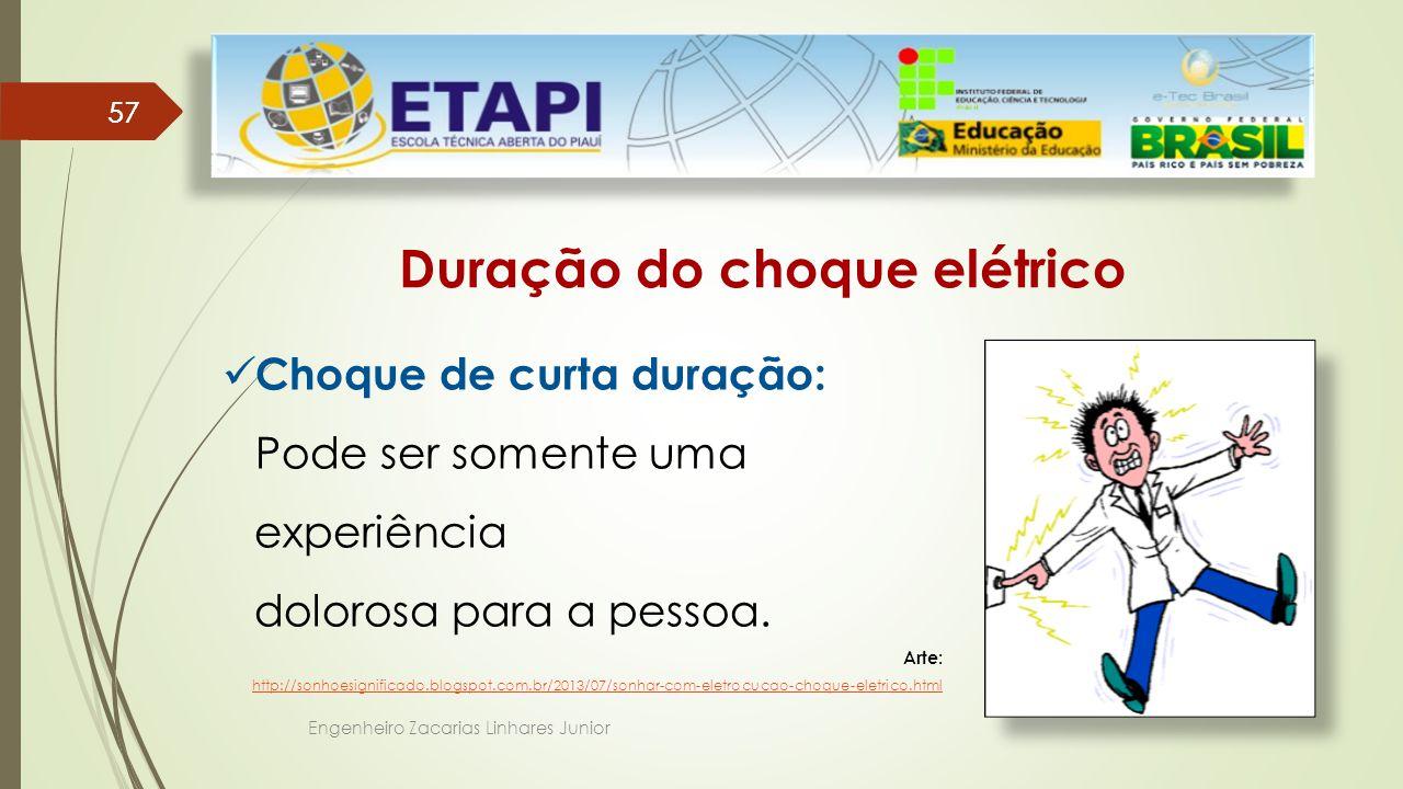 Duração do choque elétrico