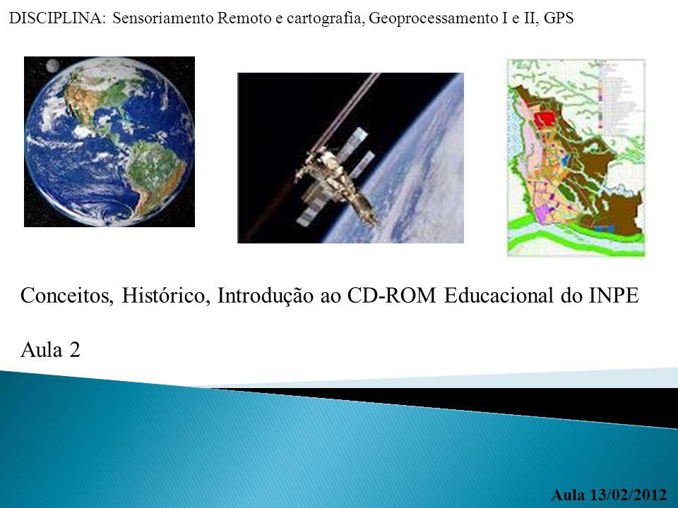Conceitos, Histórico, Introdução ao CD-ROM Educacional do INPE Aula 2