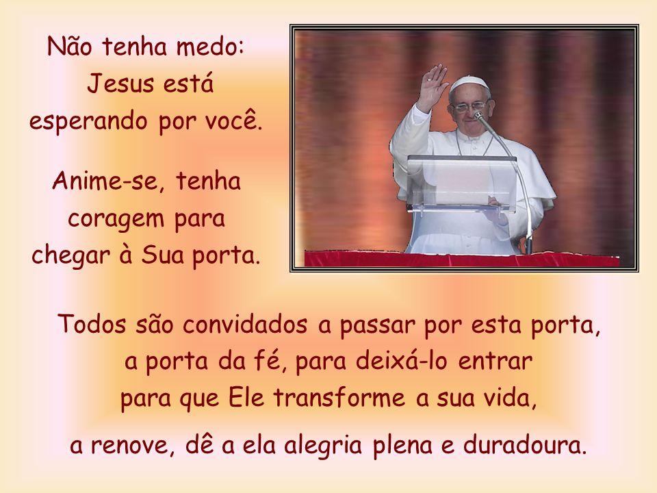 Jesus está esperando por você.