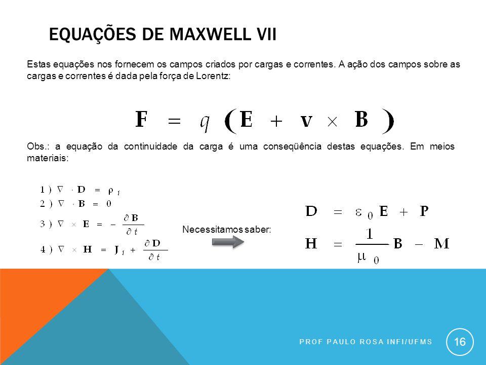 Equações de maxwell viI