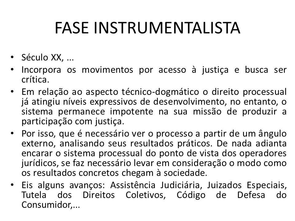FASE INSTRUMENTALISTA