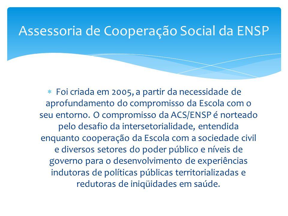 Assessoria de Cooperação Social da ENSP