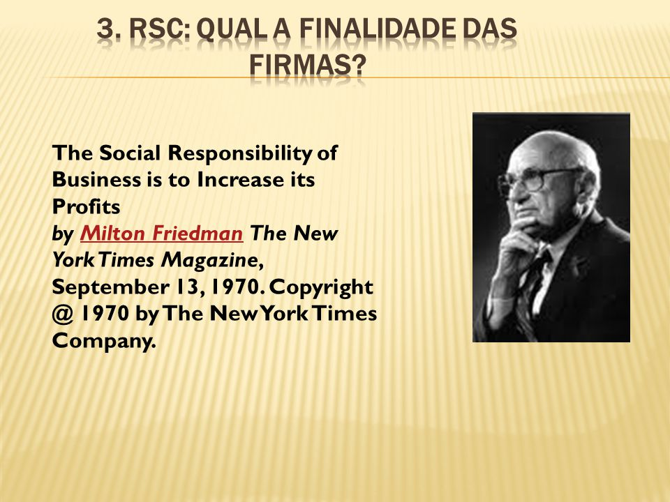 3. RSC: Qual a finalidade das firmas