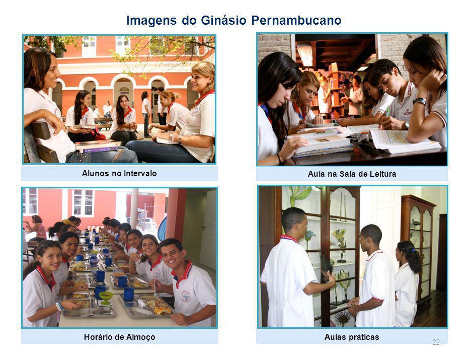 Imagens de outras Escolas com modelo inovador em Pernambuco