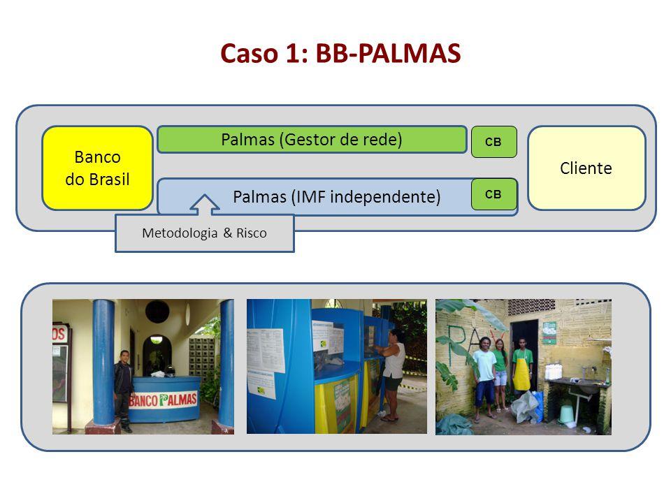 Caso 1: BB-PALMAS Palmas (Gestor de rede) Banco Cliente do Brasil