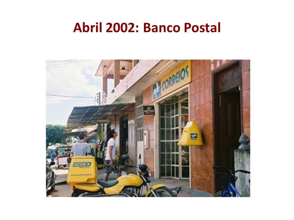 Abril 2002: Banco Postal